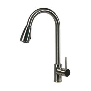 Nantucket Sinks Premium Pull Down Single Handle Kitchen Faucet