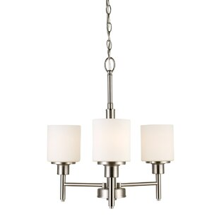 Buckleys 3-Light Shaded Chandelier by Zipcode Design