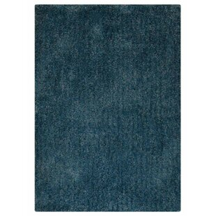 Searching for Sanford Hand-Tufted Blue White Rug By Ebern Designs