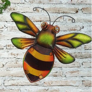 Bumblebee Glass Wall Décor Image