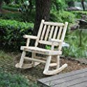 Talmage Wooden Rocking Chair Millwood Pines