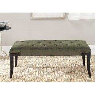 Alcott Hill Adele Tufted Two Seat Bench