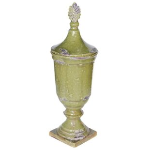 Artistic Ceramic Lidded Storage Jar