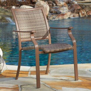 Island Cove Stacking Patio Dining Chair