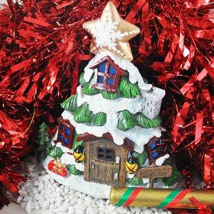 Bellamira Christmas Tree Fairy Garden Lighted Display By The Seasonal Aisle