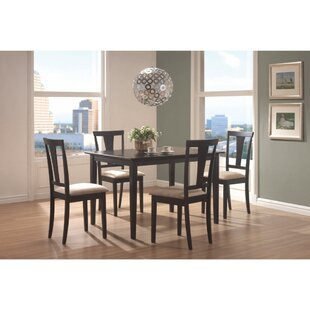 Jeon 5 Piece Dining Set