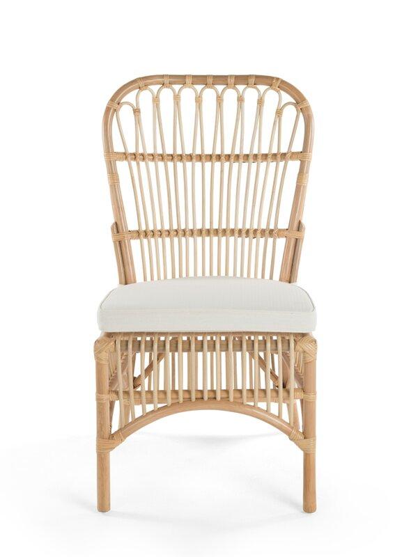 Deloris Rattan Side Chair #rattan #dining #chair