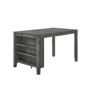 Blondell Counter Height Dining Table with Shelf Foundry Select