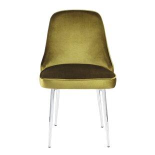 Elim Velvet Upholstered Dining Chair (Set of 2)