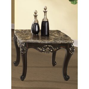 Arnaline End Table by Astoria Grand