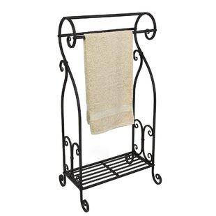 Freestanding Towel Rack By Three Posts