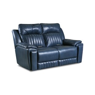 Silver Screen Reclining Loveseat by South..