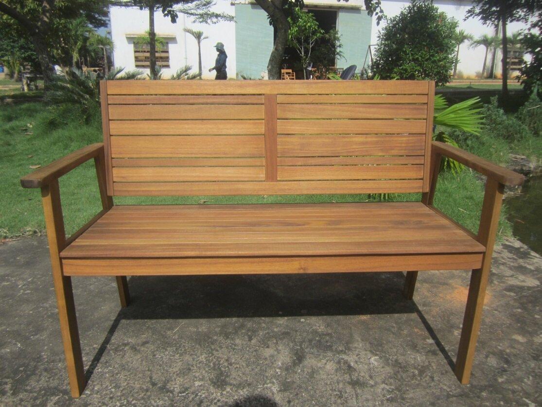GreemotionUK Maui Wooden Garden Bench | Wayfair.co.uk