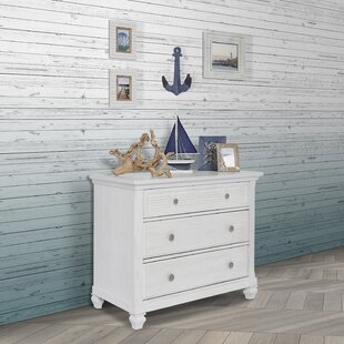 Evolur Cape May 3 Drawer Chest