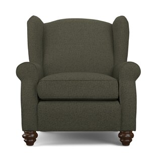 Review Roselle Wingback Chair and Ottoman (Set of 2) by Alcott Hill