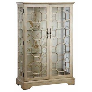Stein World Cosmopolitan Lighted Curio Cabinet