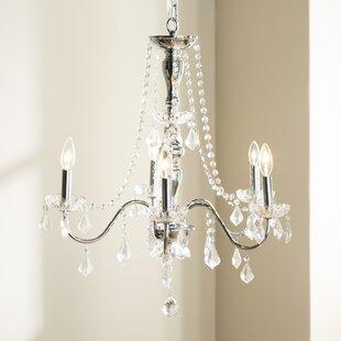 House of Hampton Mckibben 5-Light LED Candle Style Chandelier