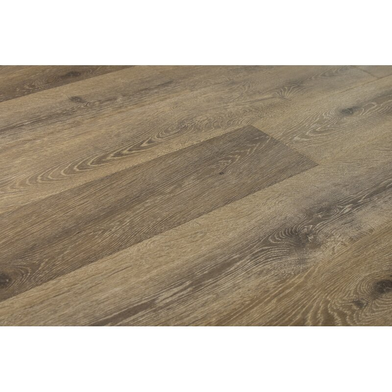 Augustus 7 71 X 72 83 12mm Oak Laminate Flooring In Simply Taupe