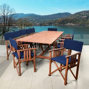 Beachcrest Home Foss 13 Piece Dining Set