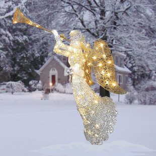 crystal angel christmas decoration - Metal Christmas Decorations Outdoor