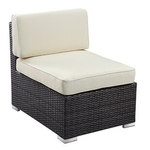 Rattan Outdoor Furniture Brighton Middle Sectional Chair with cushions