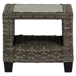 Stacia Rattan Side Table By Sol 72 Outdoor