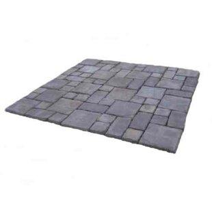 Cass Stone Concrete Patio On A Pallet Kit