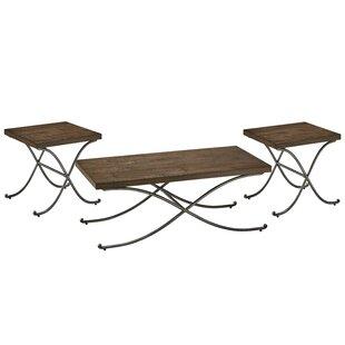 Hillcrest 3 Piece Coffee Table Set