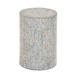 Cranston in Mosaic Wood Inlay Stool