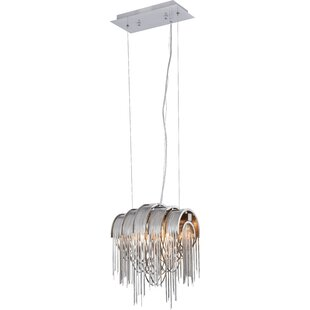 Everly Quinn Veta 2-Light Novelty Pendant