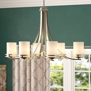 Scales 6-Light Shaded Chandelier by Winston Porter