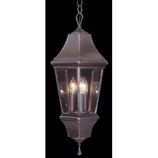 Framburg Mission Hills 3-Light Outdoor Hanging Lantern