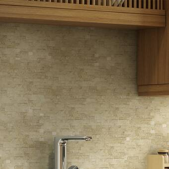 Smart Tiles Milenza Vasto 9 X 10 2 Gel Peel Stick Mosaic Tile Reviews Wayfair