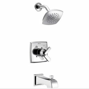 Ashlyn Monitoru00ae Pressure Balance Tub and Shower Faucet Trim with Monitor