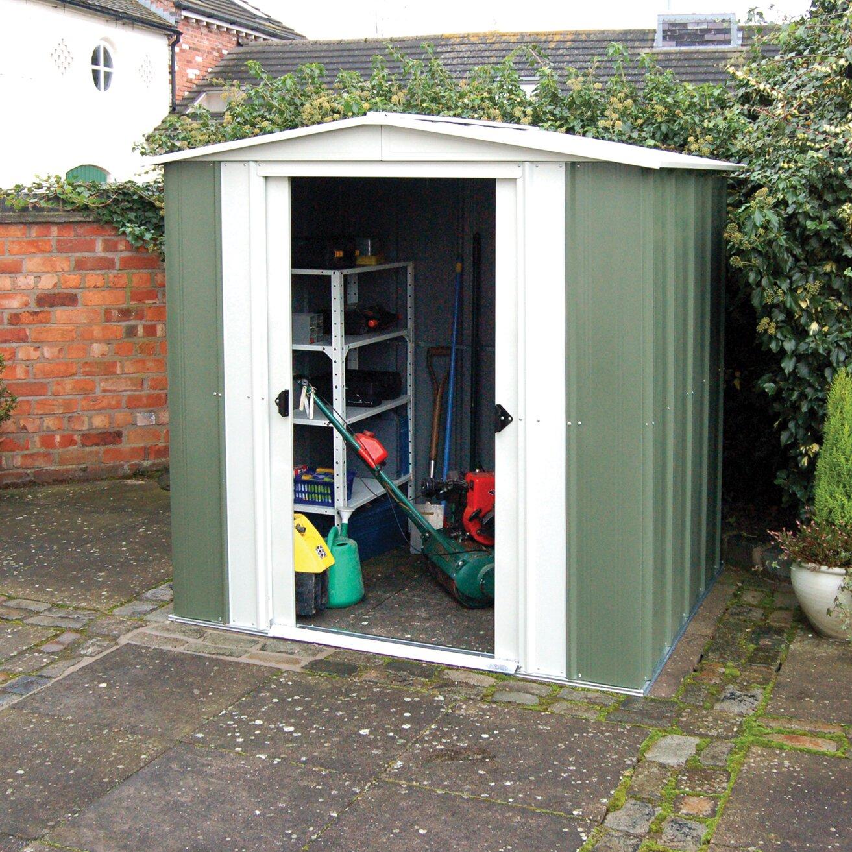 Garden Sheds 7 X 9 metal garden shed door glides uk - best yard design ideas 2017