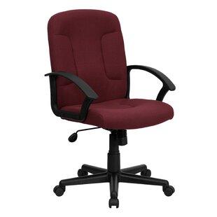 Winston Porter Hurlburt Mid-Back Desk Chair (Set of 2)