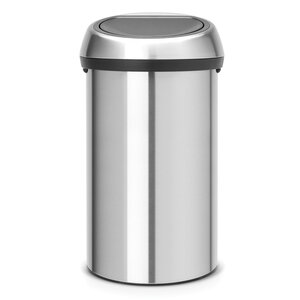 Steel 16 Gallon Trash Can