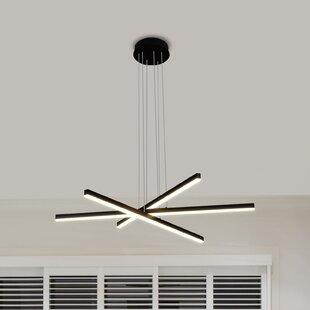 Compare Northgate 3-Light LED Chandelier By Orren Ellis