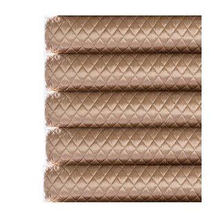Fino Lino Silk Charmeuse Diamond Coverlet