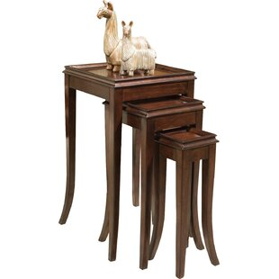 Affordable Manhattan 3 Piece Nesting Tables By Fairfield Chair