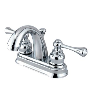 Elements of Design Vintage Centerset Bathroom Faucet with Drain Assembly