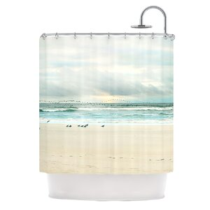 Flight Polyester Shower Curtain