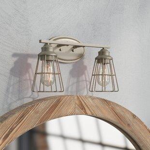 Best Price Blas 2-Light Vanity Light Trent Austin Design
