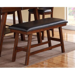 Elzy Counter Height Padded Dining Bench