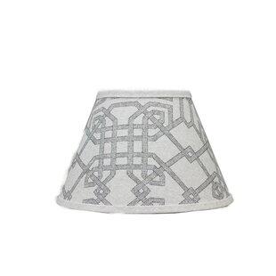 Geometric 6 Linen Empire Lamp Shade