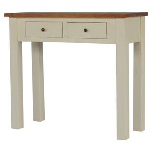 Braes Ridge 2 Toned Narrow Solid Wood Console Table By Union Rustic