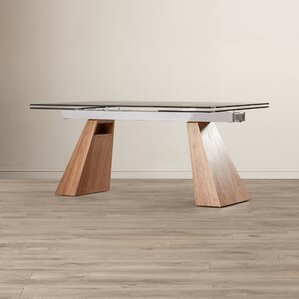 Leesburg Extendable Dining Table by Wade Logan