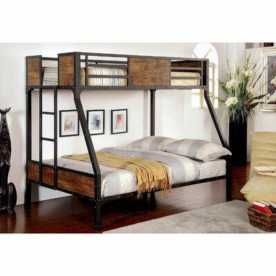Espanola Twin Over Full Bunk Bed Harriet Bee