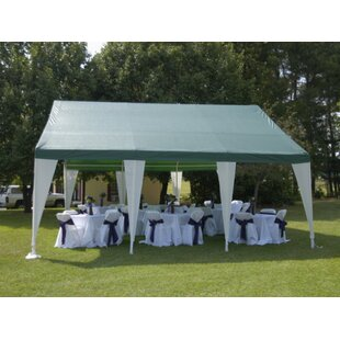 20 Ft. W x 20 Ft. D Steel Party Tent by King Canopy