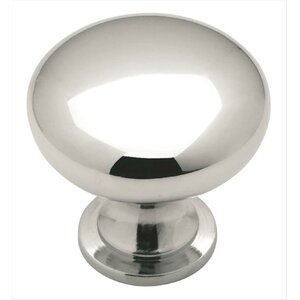 Allison Polished Chrome Mushroom Knob